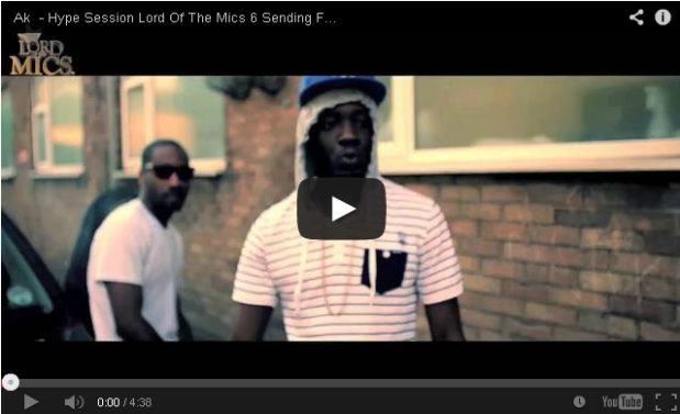 BRITHOPTV- [Freestyle Video] AK (@AKNFS) – Hype Session @LordOfTheMics #LOTM6 Sending For Villian (@VillainInvasion)' - #Grime
