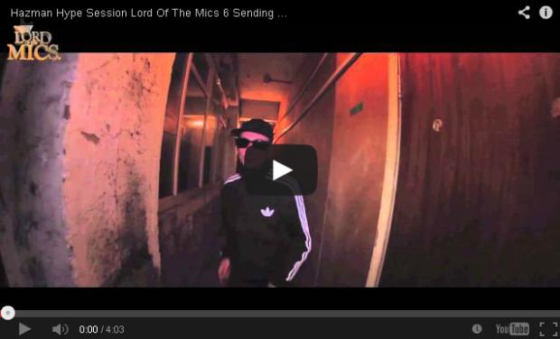 BRITHOPTV- [Freestyle Video] Hazman (@HazmanInvasion) – Hype Session @LordOfTheMics #LOTM6 Sending For Dorris (@itsdorris)'- #Grime