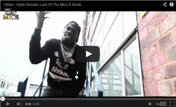 BRITHOPTV- [Freestyle Video] Villian (@VillainInvasion) – Hype Session @LordOfTheMics #LOTM6 Sending For AK - #Grime
