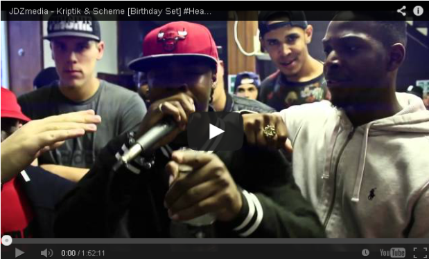 BRITHOPTV- [Video Set] Kriptik (@therealkriptik ) & Scheme (@SchemeArtist ) Birthday Set #Headtopsessions4 [@JDZMedia]- #Grime